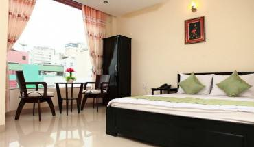 Phòng nghỉ rộng rãi thoải mái. Ảnh: iVIVU.com