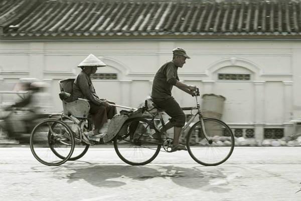 Xe lôi là một phương tiện di chuyển rất phổ biến ở Đồng Tháp.