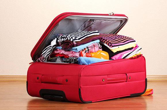 Kiểm tra lại hành lý, nhà cửa.