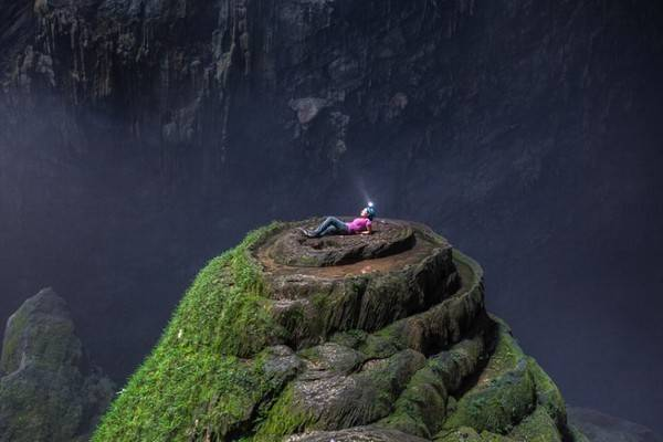 Du lịch Quảng Bình - Hang Sơn Đoòng được biết đến là hang động tự nhiên lớn nhất thế giới.