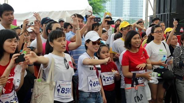 Fun Run 2014 sẽ là một kỷ niệm đẹp đối với những người tham gia.