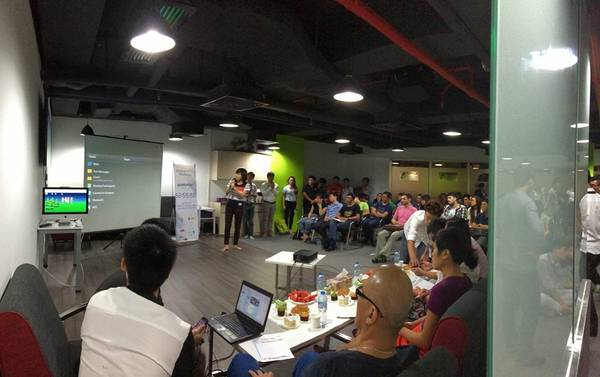 Vòng chung kết Startup Weekend Hà Nội. Ảnh: Startup Weekend Hà Nội