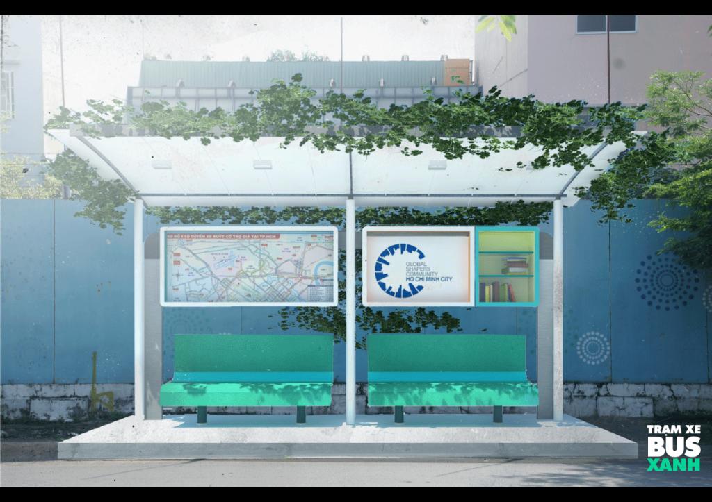 """Du lịch Sài Gòn - Tác phẩm """"Trạm xe buýt xanh"""""""