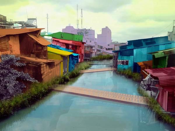 """Du lịch Sài Gòn - Tác phẩm """"Ký ức tuổi thơ"""""""