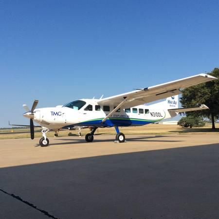 Du lịch Mỹ - Chiếc máy bay chỉ còn chờ lắp phao thủy phi cơ để về Việt Nam vào cuối tháng 11.