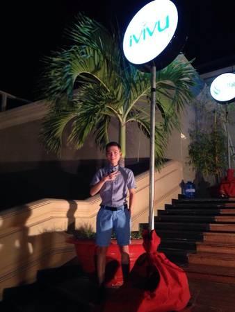 Bạn Nguyễn Hoàng Khải (TC Leader) trong chuyến du lịch Phan Thiết. Ảnh: FB Đinh Thị Ái Vang.