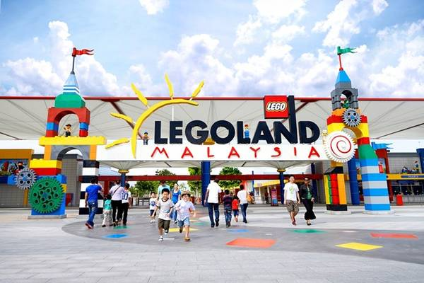 Du lịch Malaysia - Công viên giải trí Legoland.