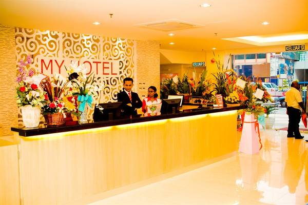 Sảnh Khách sạn My @ Bukit Bintang.