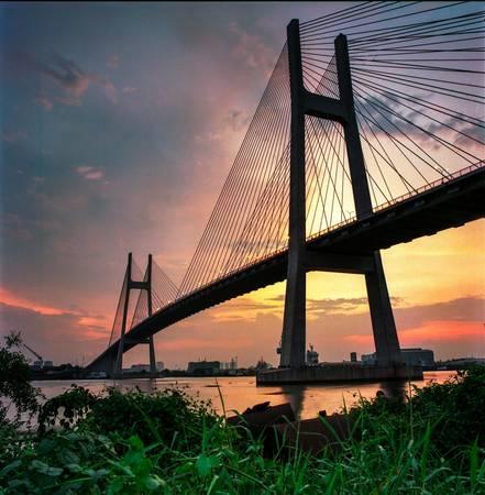 Du lịch Sài Gòn - Cầu Phú Mỹ