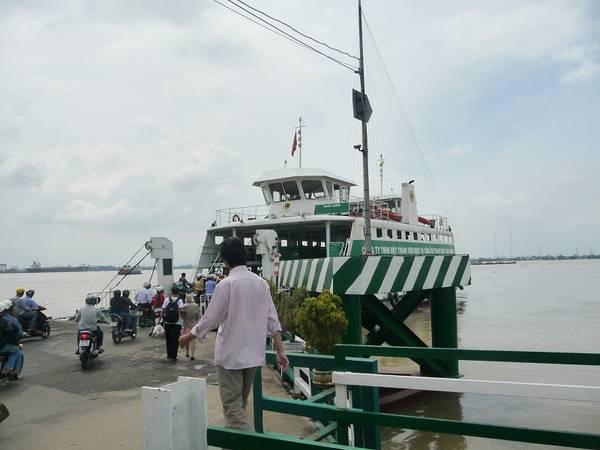 Du lịch Cần Giờ - Phà Bình Khánh.