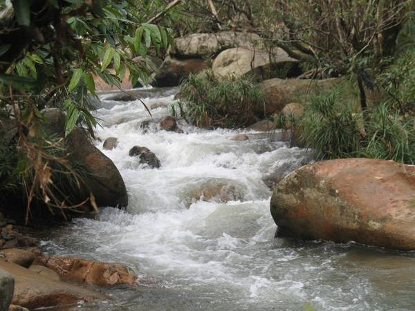 Suối Ba Hồ.