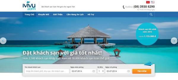 Đặt phòng khách sạn trực tuyến với giá tốt nhất tại iVIVU.com