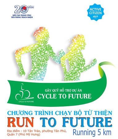 iVIVU.com đồng hành cùng sự kiện chạy bộ từ thiện với mục tiêu gây quỹ cho dự án xã hội Đạp xe vào tương lai (Cycle To Future)