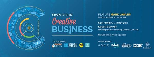 iVIVU.com đồng hành cùng 'Creative Drinks #3: Khởi nghiệp sáng tạo'