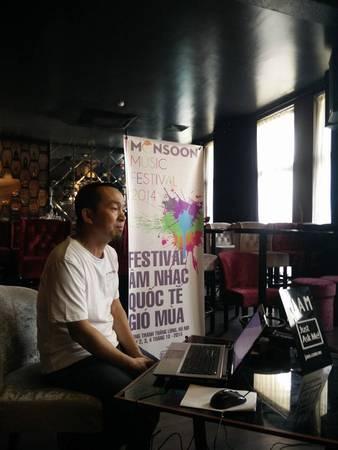 du lịch Hà Nội - Nhạc sỹ Quốc Trung chính là tổng đạo diễn của lễ hội.
