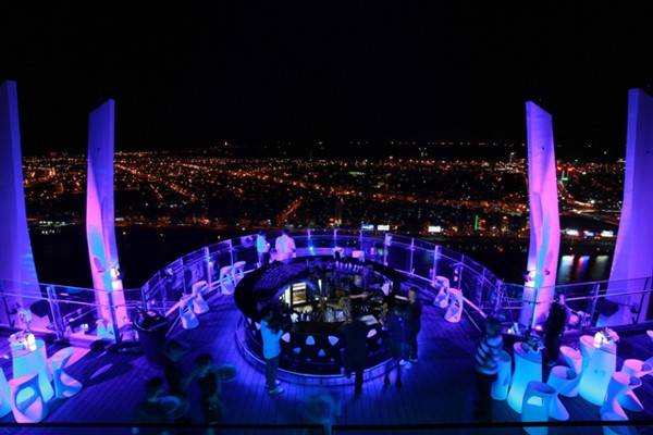 Sky Bar cao nhất Việt Nam tại Đà Nẵng.