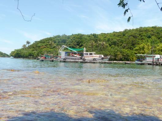 Du lịch Kiên Giang - Nước biển trong xanh...