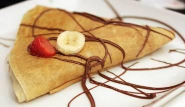 Món bánh Crepe thơm ngon. Ảnh: Beanie's Crepes & Waffles