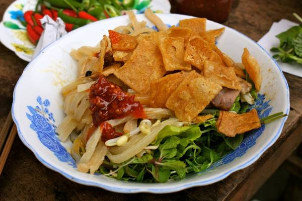 Món Cao Lầu.