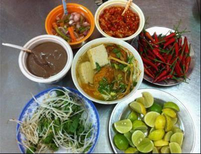 Du lich Da Nang - Bún chả cá Đà Nẵng.