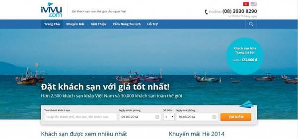 Đặt phòng khách sạn trực tuyến iVIVU.com