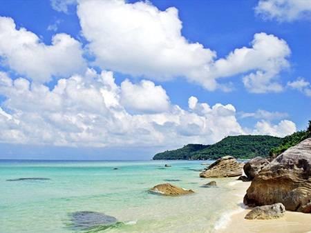Bãi Sao là một trong những bãi biển đẹp nổi tiếng ở Phú Quốc