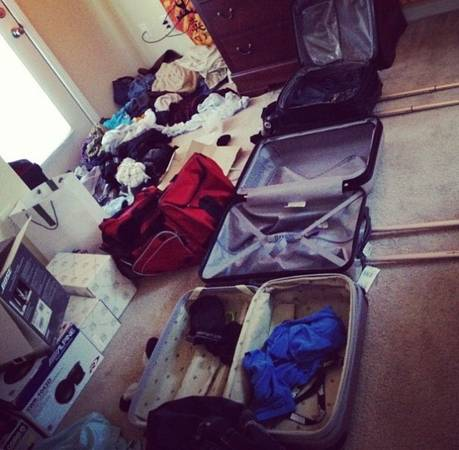 Bạn luôn trong trạng thái chuẩn bị cho chuyến đi tiếp theo.
