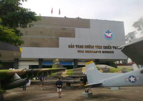 Bảo tàng chứng tích chiến tranh.