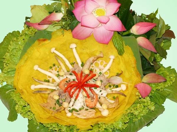 Món Bánh xèo Nam Bộ.