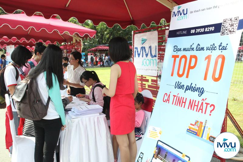 iVIVU.com tham gia ngày hội 'Hành trình khởi nghiệp'.