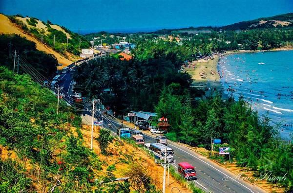 Phan Thiết là nơi vô cùng lý tưởng để đi du lịch nghỉ dưỡng. Ảnh: Nguyễn Hữu Thành