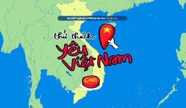 'Thử thách yêu Việt Nam' - trò chơi đầu tiên được xây dựng dành cho người Việt với nội dung về địa lý Việt Nam