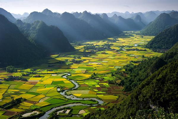 Thung lũng Bắc Sơn, Lạng Sơn, Việt Nam.