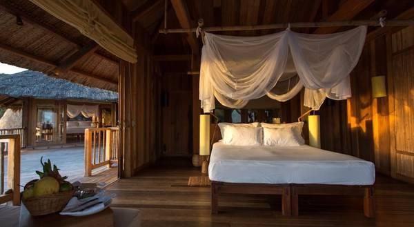"""Khu nghỉ dưỡng Six Senses được đánh giá là """"một chốn thiên đường xa hoa, sáng tạo và trang nhã, với những căn phòng có kiểu thiết kế độc đáo""""."""