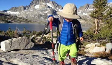 Cậu bé mang tên Bodhi Bennettbang, sinh ra tại California (Mỹ), 5 ngày tuổi đã bắt đầu cùng bố mẹ đi bộ du lịch.