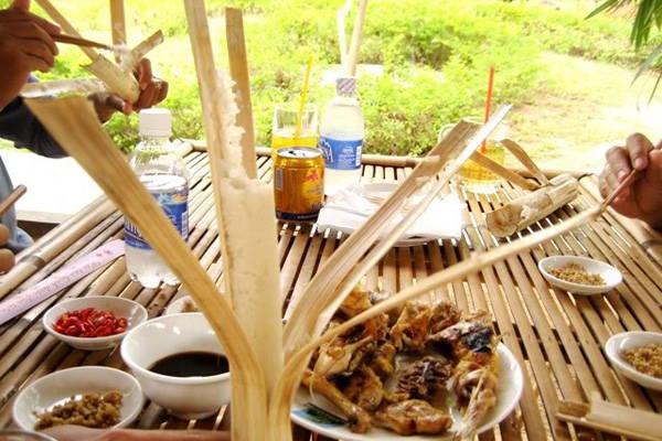 Món cơm lam làm say lòng nhiều thực khách