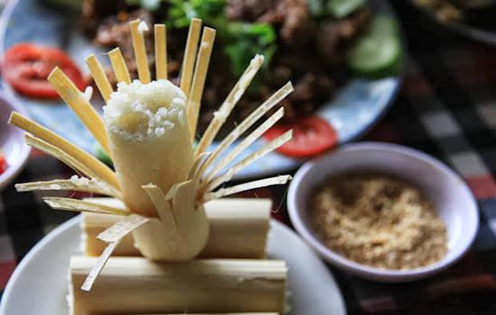 Muốn ăn cơm lam thì phải lên Tây Bắc, nơi có bản làng của người Thái, Tày, Nùng, Mông, Mường, Dao