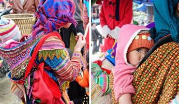 Trong xu hướng bị thương mại hóa các chợ vùng cao hiện nay thì Bắc Hà là một trong những nơi hiếm hoi còn giữ được bản sắc dân tộc, nét riêng độc đáo của các phiên chợ xưa. Ảnh: modernmumu