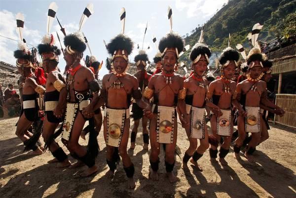 Hornbill là một lễ hội độc đáo diễn ra ở Nagaland, Ấn Độ