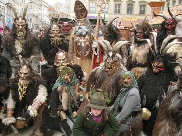 Lễ hội ma quỷ Krampusfest.