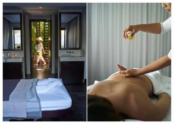 Dịch vụ spa với gói trị liệu tuyệt vời.