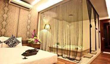 Phòng nghỉ sang trọng tại Khách sạn Valentine Sài Gòn. Ảnh: iVIVU.com