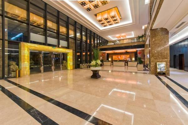 Khu vực sảnh của khách sạn.