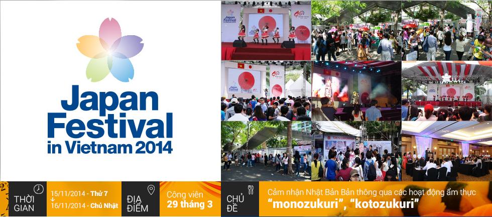 Lễ hội Nhật Bản tại Việt Nam năm nay có chủ đề Cool Japan.
