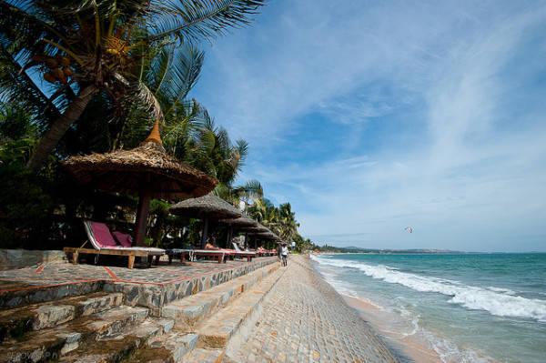 Bãi biển Phan Thiết.