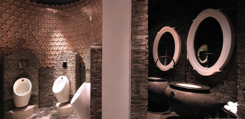 Ứng dụng gốm Bát Tràng trong thiết kế nội thất tại InterContinental Danang Sun Peninsula Resort.