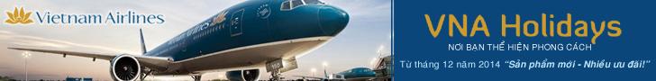 iVIVU.com hợp tác cùng Vietnam Airlines ra mắt dịch vụ VNAHolidays