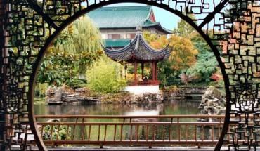 Ngôi vườn Trung Hoa ở Chinatown Vancouver - Phố Tàu lâu đời nhất ở Canada.