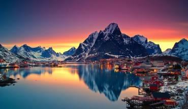 1.Bởi vì khung cảnh hoàng hôn ở Na Uy sẽ trông tuyệt vời như thế này! Ảnh  Flickr: 113648254@N02 / Creative Commons
