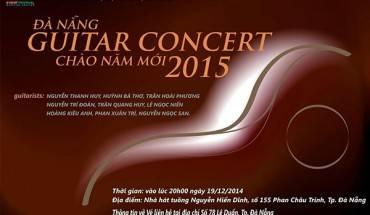 """Chương trình """"Danang Guitar Concert 2014- Chào Năm mới 2015""""."""